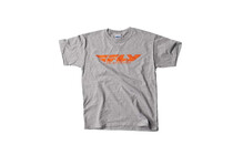 Fly Racing T-Shirt Corporate Men grau